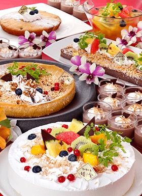 ●8月の姫蛍は、自家製「パインとココナッツのスイーツ」が登場!●