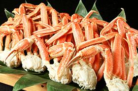 ●4月の平日夜は「本ずわい蟹」を(大人+980円)堪能♪●