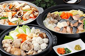 ●12月のブッフェには、冬ならではの「あったか鍋フェア」を開催!●