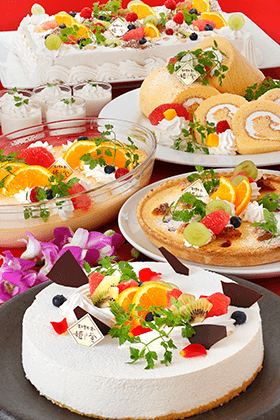●1月5日からは自家製「阿蘇ミルクとチーズのスイーツ」登場!●