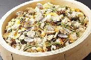 ●5月の姫蛍は「浅利と山菜のおこわ」が登場!●