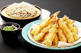 ●11月の姫蛍は「海老と秋野菜の天婦羅」と「新蕎麦」が登場!●
