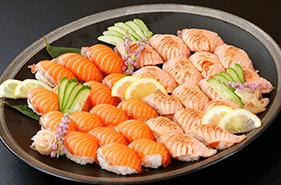 ●11月の平日夜限定で「サーモンの握り寿司」も登場!●