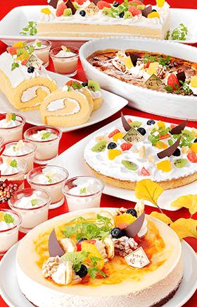 ●11月はパティシエ特製「キャラメルとチーズのスイーツ」が登場♪●