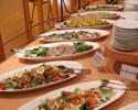 新鮮野菜のサラダコーナー