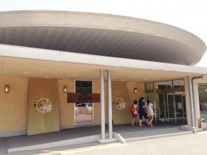 天拝の郷玄関