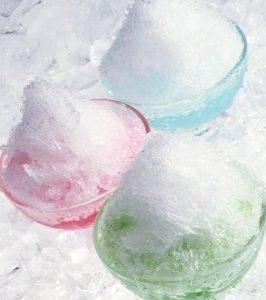 かき氷素材写真