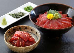 漬けマグロの鉄火丼(H27.11)