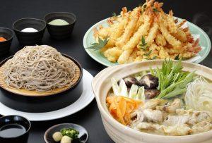 新蕎麦&海老天&博多水炊き(トリミング)(H26.11)