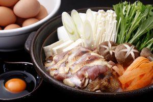 鶏すき鍋(赤卵付き)(H26.4)
