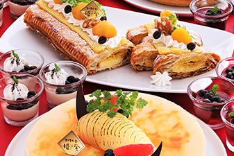 栗と梨のデザート&タピオカのスイーツ