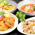 自然食ブッフェにて、8月は「アジアンフェア」&「夏のスイーツフェア」を開催中♪