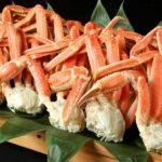 """<span class=""""title"""">1月~2月の自然食ビュッフェ姫蛍では、毎日「本ずわい蟹」(ビュッフェ+通常1,980円)が、  特別価格の大人+980円にて、お好きなだけ味わえます。「本ずわい蟹」が、この価格で楽しめるのは天拝の郷のビュッフェならではの魅力です♪</span>"""